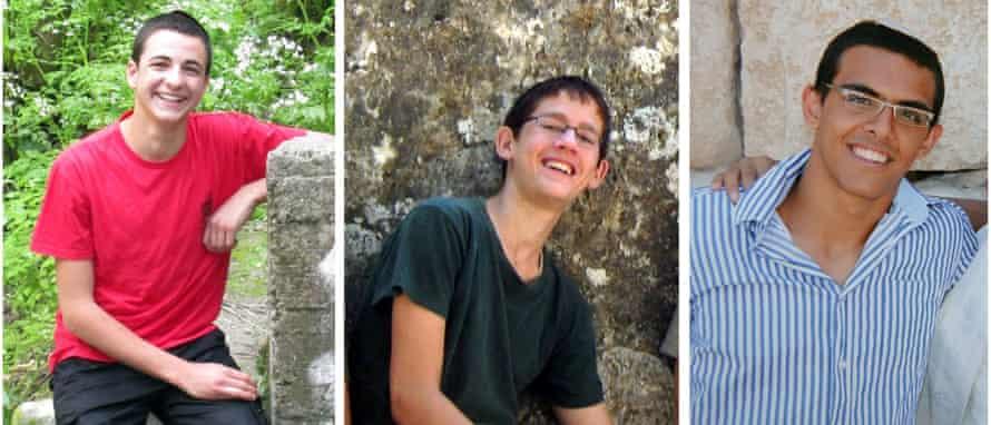 Gil-ad Sha'er, Naftali Frankell and Eyal Yifrach