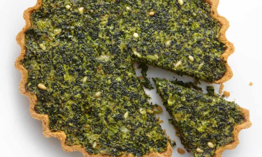 Yotam Ottolenghi's kale and swiss chard tart