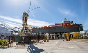 Container Park Entrance.For Cities: Downtown Project in Las Vegas
