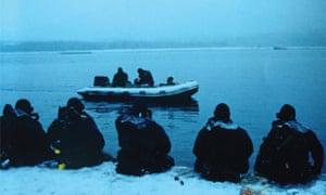 Training in Ketchikan, Alaska.