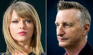 Taylor Swift and Billy Bragg.