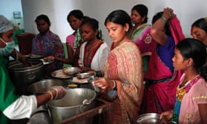 Women who had sterilisation surgery at government camps at a hospital in Bilaspur district, Chhattisgarh state.