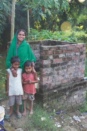 MDG Toilet twinning in India