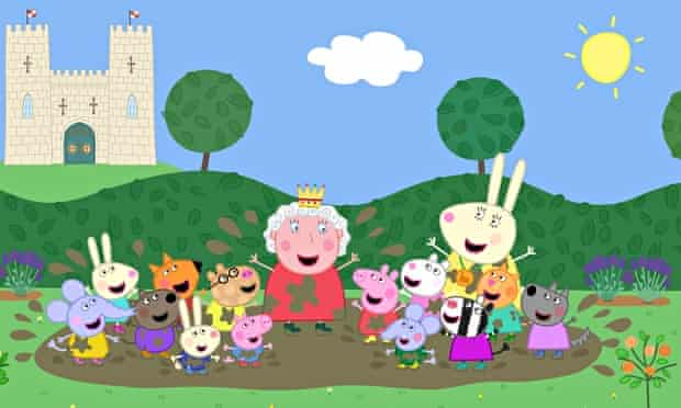 The Queen guest stars in Peppa Pig