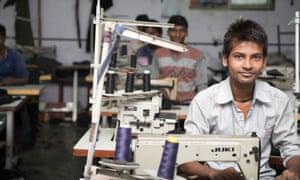 Dharavi garment workers