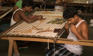 Dharavi textile workers