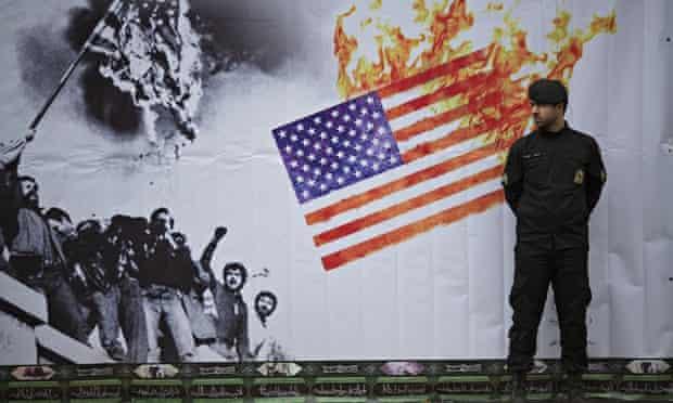 The former US embassy, Tehran
