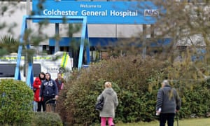 Colchester General hospital in Essex