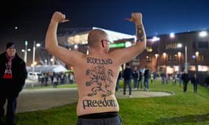 A Scotland fan