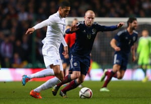 Chris Smalling and Steven Naismith