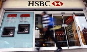 An HSBC branch in London.
