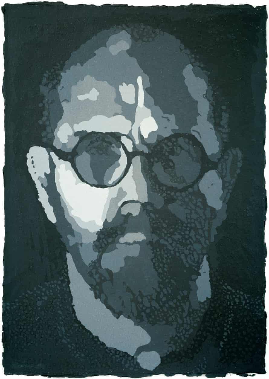 Chuck Close, Self-Portrait/Pulp, 2001, (Progressive Proof I)