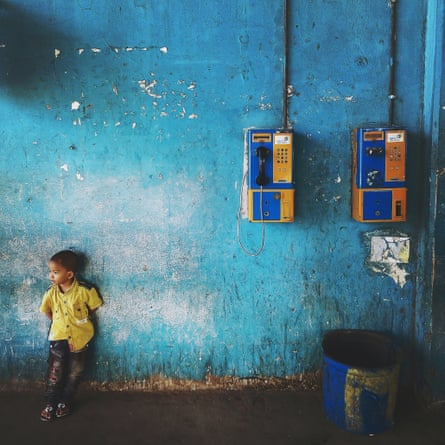 Out of the Phone. One for two, Jakarta City, Indonesia. @outofthephone