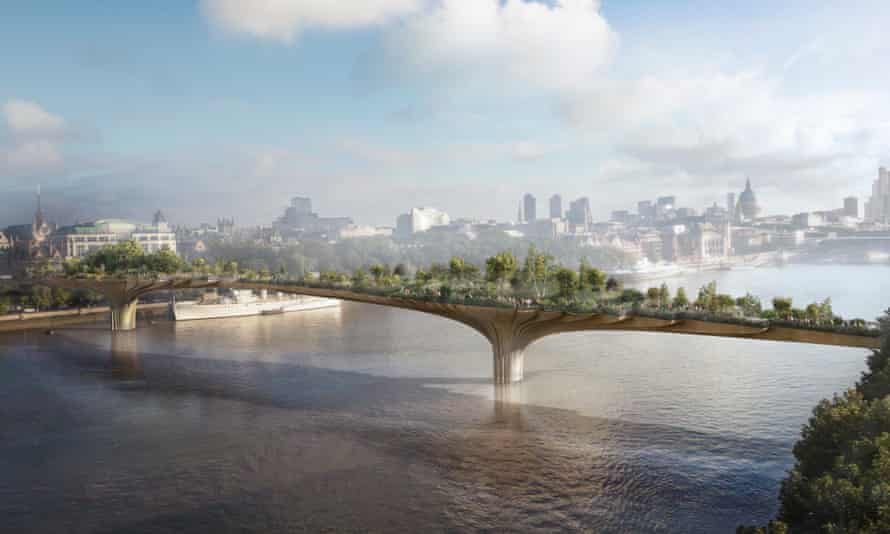 When is a bridge not a bridge? … Conditions have emerged that make the garden bridge appear to be more of a private tourist attraction.