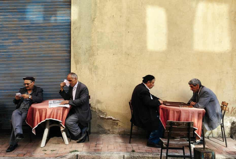 Out of the Phone. Break, Bartin, Turkey. July 17, 2014
