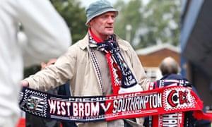 West Bromwich Albion v Southampton scarf