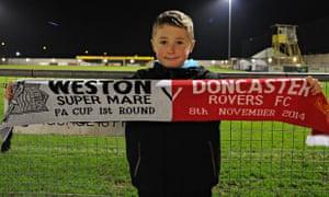 Weston-Super-Mare v Doncaster