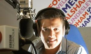 Radio Norfolk talk show host Nick Conrad