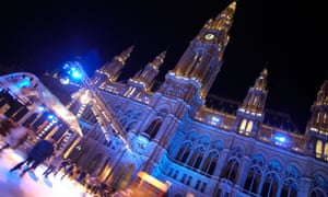 Austria Vienna Ice Festival City Hall