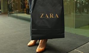 Zara shopping bag