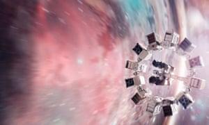 A spaceship in the 2014 film Interstellar