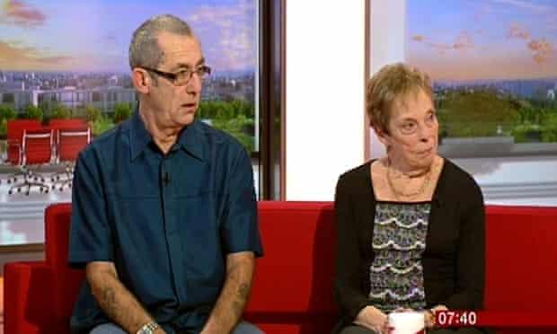 Tony and Jan Jenkionson Bad Blackpool hotel review couple