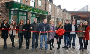 Coronation Street at the Rovers Return Inn new set launch in Manchester