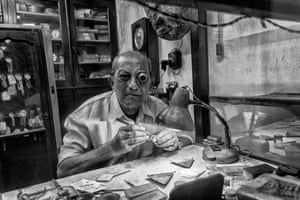 The Watch Maker by Suvanker Sen, India