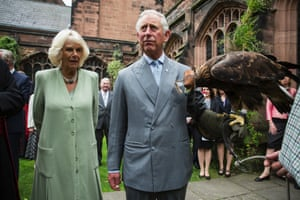 Prince Charles with the Duchess of Cornwall