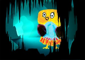 Night Zookeeper gets children to draw magical animals.
