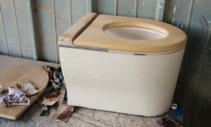 Waterless toilets turn human waste into energy and