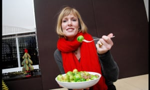 Skye Gyngell tastes some Christmas sprouts.