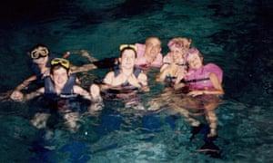 Marianela Núñez enjoys a festive swim.