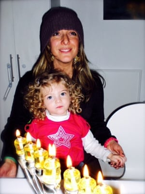 Tracy-Ann Oberman and her daughter.