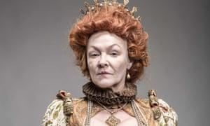 Frances Barber as Elizabeth I