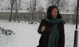 Helen MacDonald on a Christmas walk.