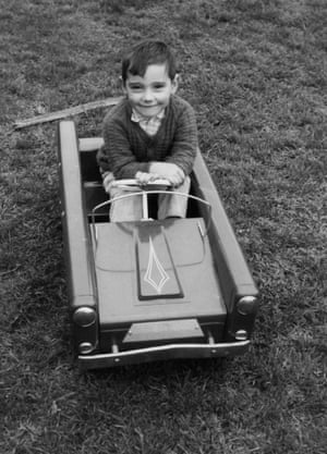 Craig Revel Horwood in his first car.