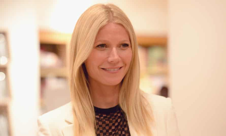 Gwyneth Paltrow, who runs lifestyle site Goop, at a book signing