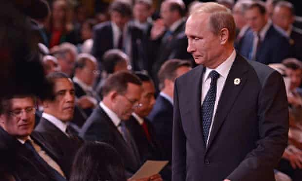Vladimir Putin at G20