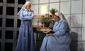 Emily Vine, left, and Céline Forrest in Suor Angelica at the Royal Academy of Music.