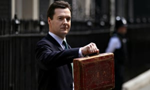 Chancellor George Osborne delivers his emergency budget in June 2010