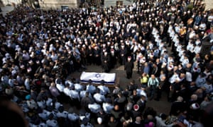 Synagogue attack funeral