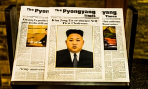 All publications in North Korea are controlled by Pyongyang, including this state-owned English-language newspaper.