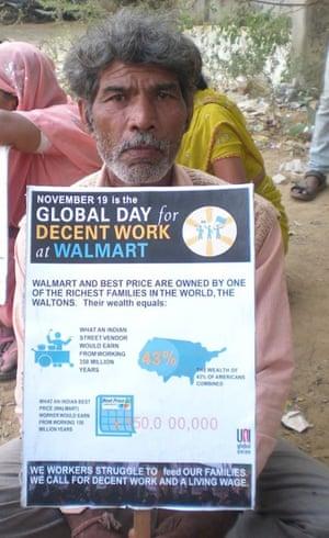 Walmart protest India