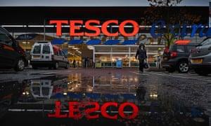 A Tesco store in Glasgow