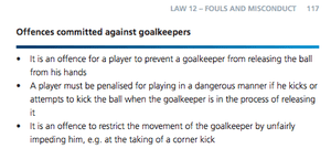 Some Fifa lawbook