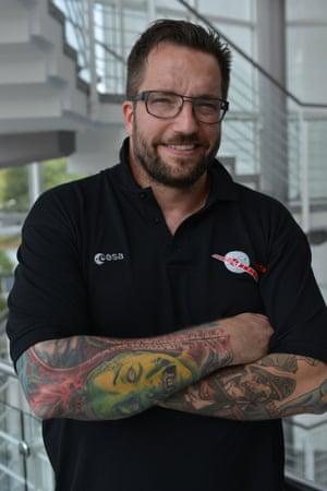 Rosetta project scientist Dr Matt Taylor