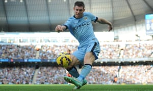 Manchester City's James Milner gave them natural width they did not exploit fully against United.