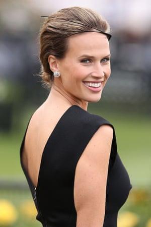 Francesca Cumani at Derby Day.