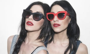 The Veronicas: Jessica and Lisa Origliasso.